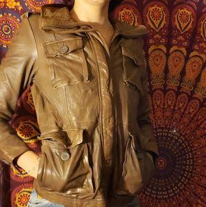 GAP Jean's leather jacket